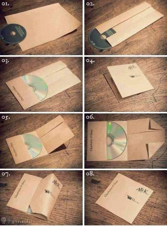 CD hüllen selber basteln... Der Kreativität sind keine grenzen gesetzt.