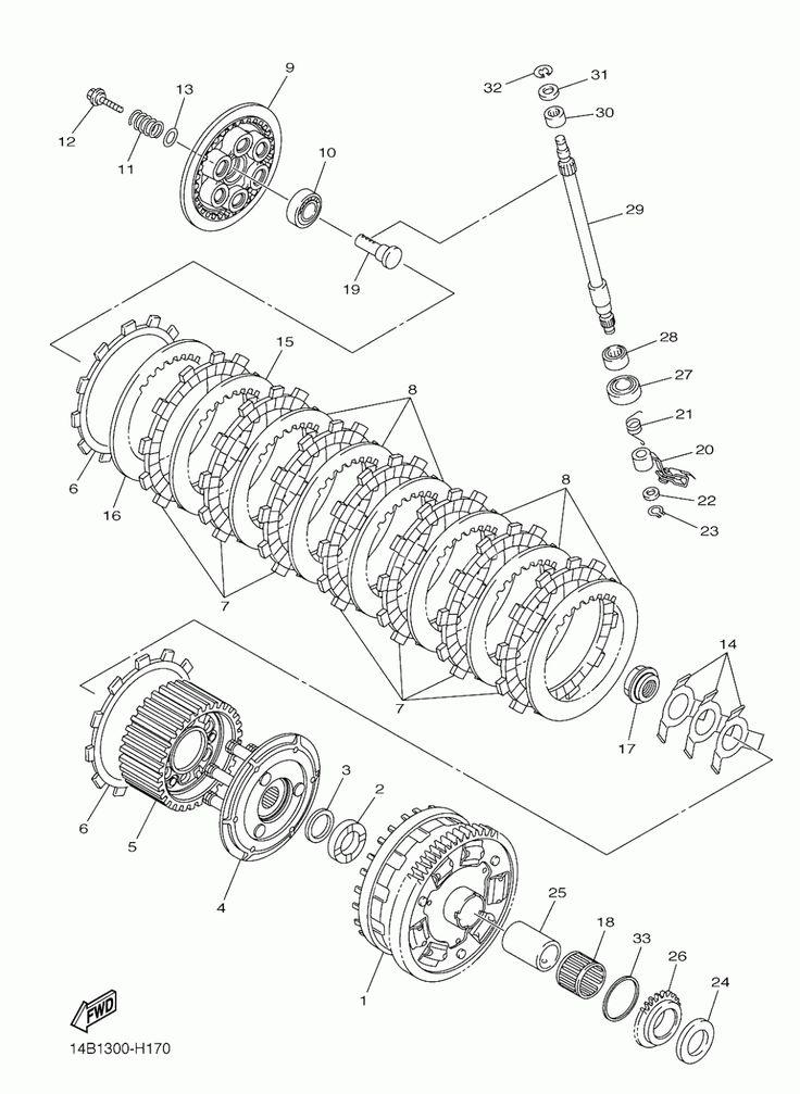 Yamaha R6 Engine Diagram di 2020