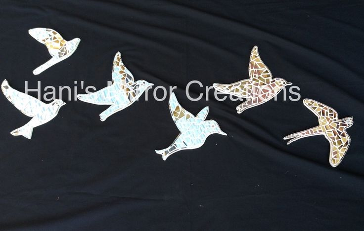 Mosaic Birds https://www.facebook.com/HanisMirrorCreations