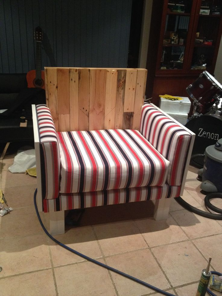 Chair for Claire, absolutely everything on this was made by me