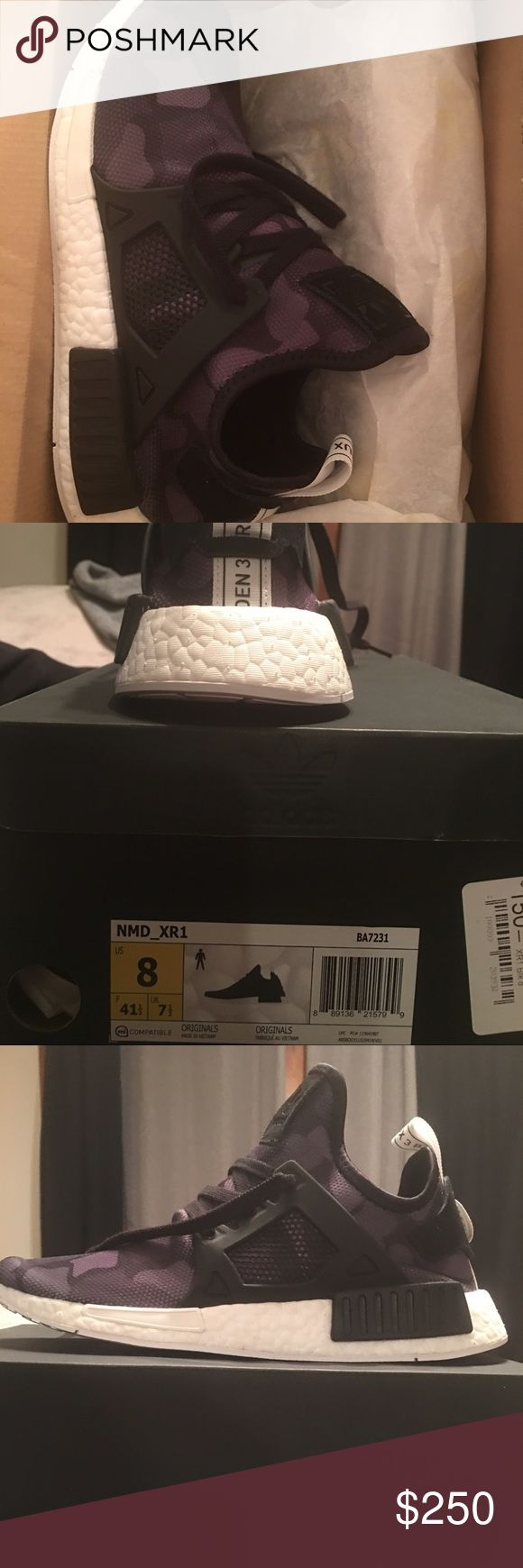 Adidas NMB Camo. Men's 8 Never worn. New with the box. Men's 8 fits a women 9.5/10 Adidas Shoes Athletic Shoes