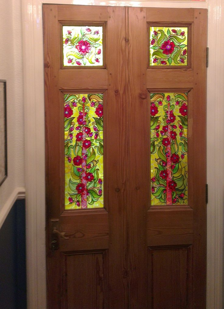 Sarah Wanted To Brighten Up Her Front Door And