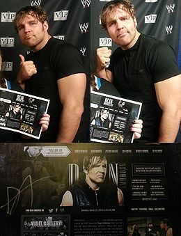 Dean-Ambrose.net » Your premier official source for WWE Superstar Dean Ambrose   News, Pictures and much more.