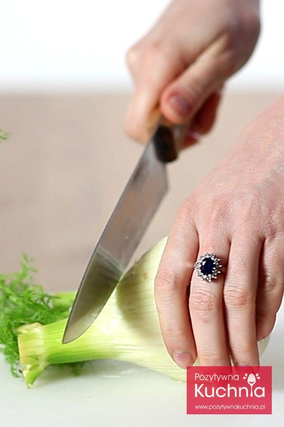 #poradnik o tym jak oczyścić i pokroić koper włoski czyli #fenkuł http://pozytywnakuchnia.pl/jak-oczyscic-i-pokroic-koper-wloski/ #kuchnia
