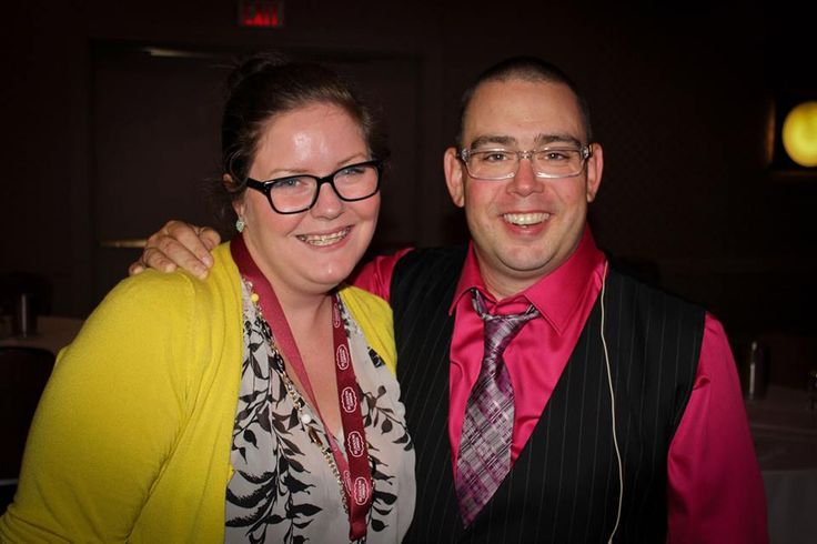 I was born to be a blogger! A guest post by Christella pictured here with Drew Dudley. #BlissDomCA