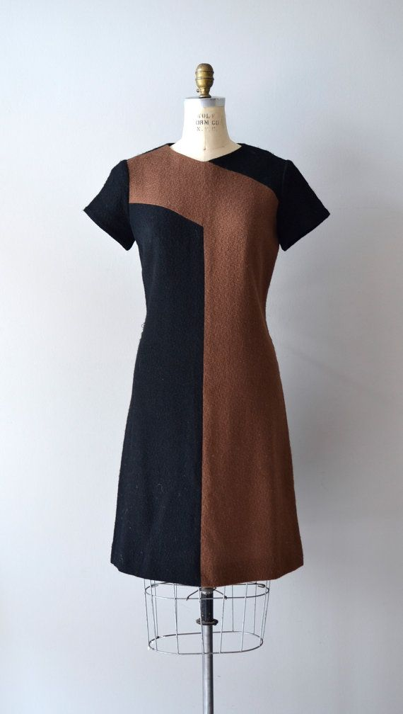 1960s knit dress