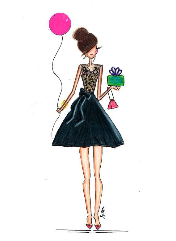 Birthday Girl by Melsys on Etsy, $20.00....Hope you had a great birthday Dani :) #compartirvideos #felizcumple