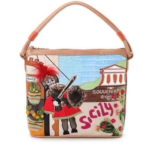 2015 Braccialini 's same designe Italy handbags women bag vintage technology package casual shoulder Sicily bag bolsas hot sale
