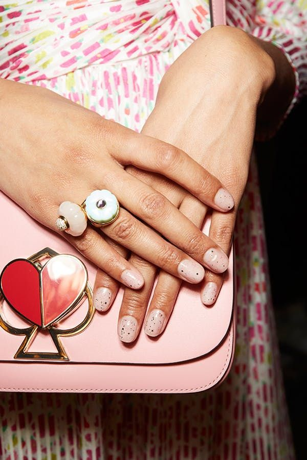 The 7 Best Nail Art Ideas We Ve Seen At Nyfw Spring Nail Trends Pretty Nail Art Nyfw Nails
