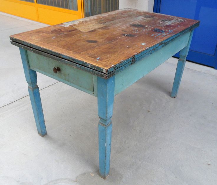 Tavolo a plancia doppia stile Luigi XVI primo '800 Piemonte