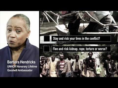 Barbara Hendricks - No one chooses to be a refugee