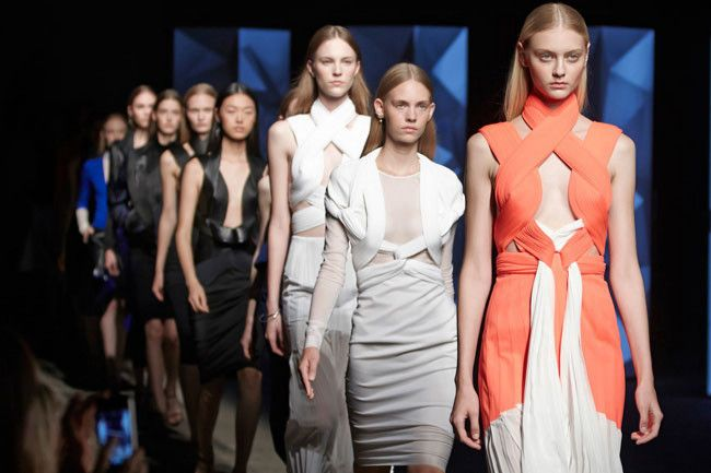 Dion Lee speaks after his NYFW debut