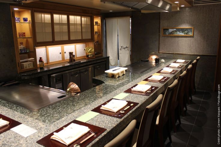 restaurant japonais paris Teppanyaki Ginza Onodera