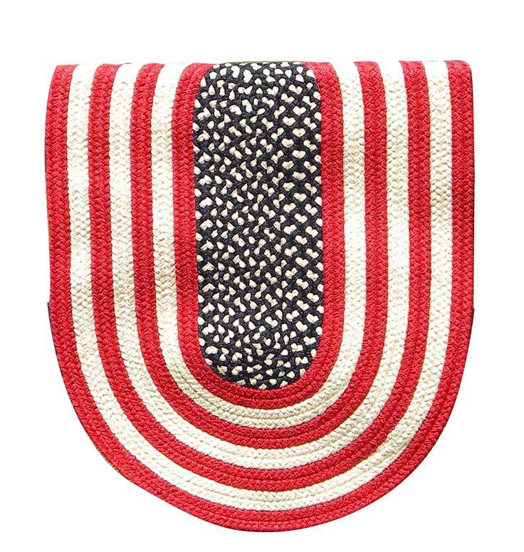 Colonial Braided Rug Co - Colonial Original American Flag Braided Rug, $59.70 (http://www.colonialrug.com/colonial-original-american-flag-braided-rug/)