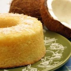 Bolo de farinha de tapioca  no Cozinha Brasileira