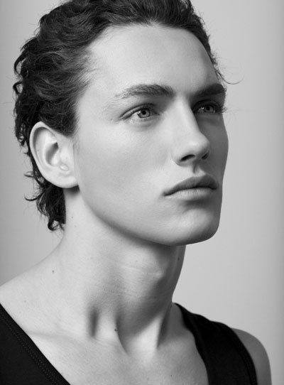 "Jakob Hybholt - a Danish model (Obviously, I'm a sucker for models -- always have been, always will be. I love ""pretty"" -- effeminate, if you will -- facial features backed up by a body that's all male ;) Jakob is a prime example.)"