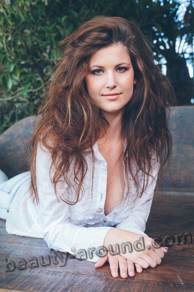 Nadine Stroitz Beautiful Austrian Girl Photo  Beautiful Girl Photo, Girl Photos, Long Hair Styles-6006