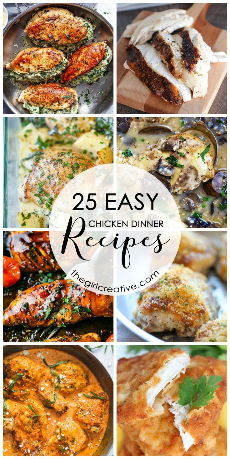 474 best the girl creative images on pinterest creative for Easy entree recipes dinner party