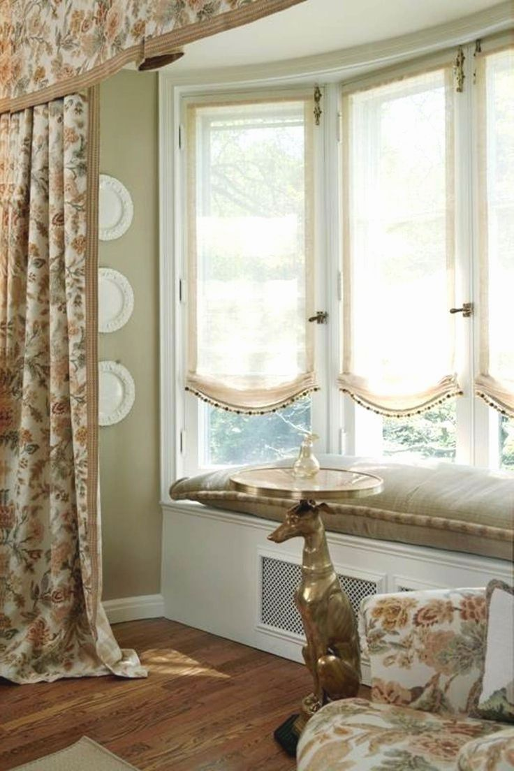 Prodigious Cool Ideas Privacy Blinds Patio Blinds Ideas Pictures Diy Blinds No Sew Sh Window Treatments Living Room Bay Window Treatments Curtains Living Room