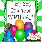 $This birthday packet includes:  song list (YouTube links) Beatles Birthday song plus 3 more Notes to family (2 versions) Summer birthday notes (2 v...