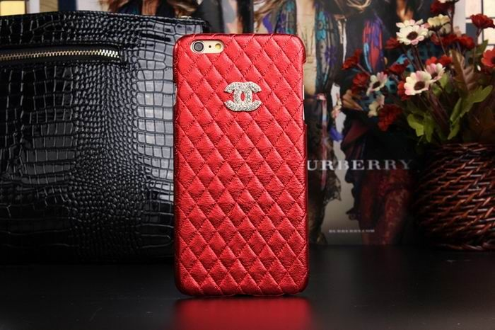 Chanel iphone 6 Case Design Designer Leather Cover Best red