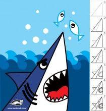 Hoe tekenen we een haai?