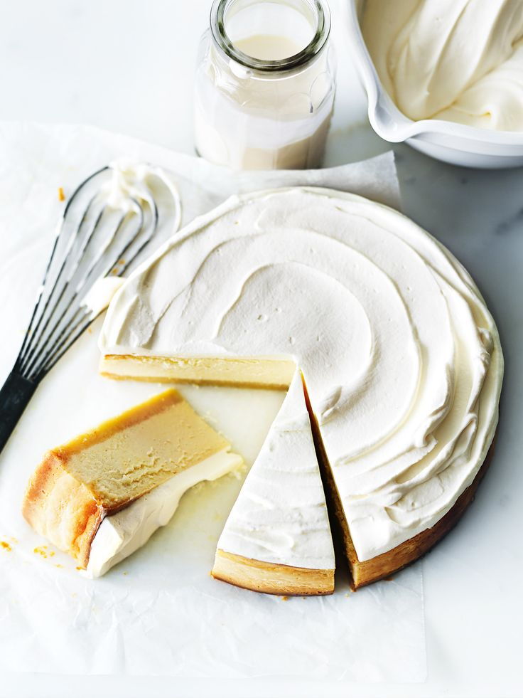 Classic Lemon Cheesecake | Donna Hay