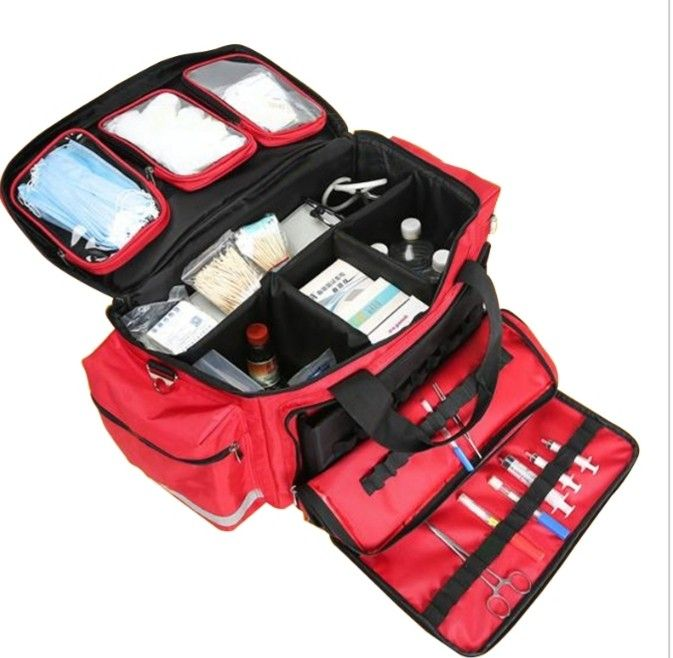 Large First Aid Kit Medical Bag Emergency Medical First Aid