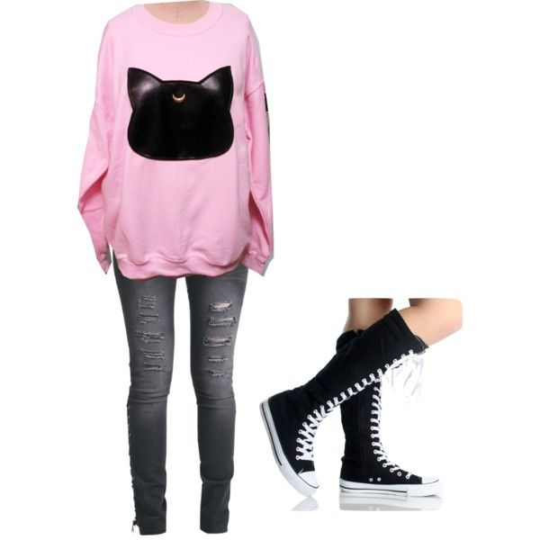 Untitled #1067 by bree-russell on Polyvore featuring мода and Rock Rebel