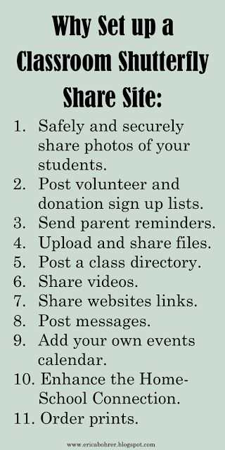 Setting Up a Classroom Photo Sharing Site