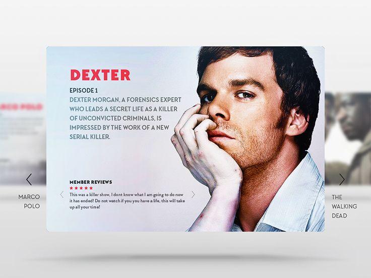 Netflix App - Dexter by Ōłłíę