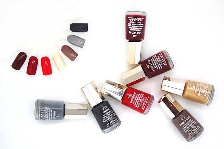 Which Mavala shade is your favourite?