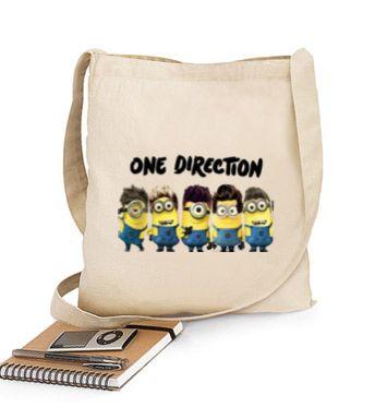 Bolsa One Direction Minions Bandolera