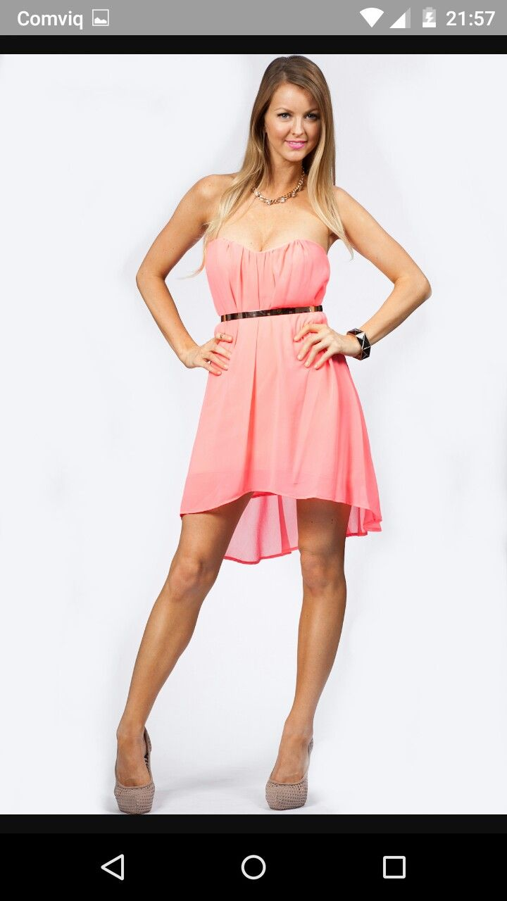 9 mejores imágenes de cute pink dresses en Pinterest | Vestidos de ...