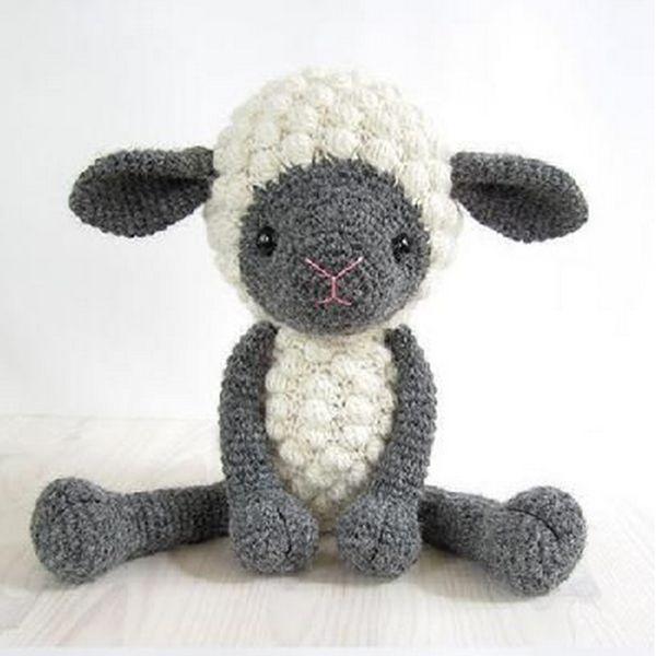 Knuffelbeer schapen. kon niet meer cute! proberen om het Amigurumi patronen, Knuffelbeer schapen amigurumi patroon