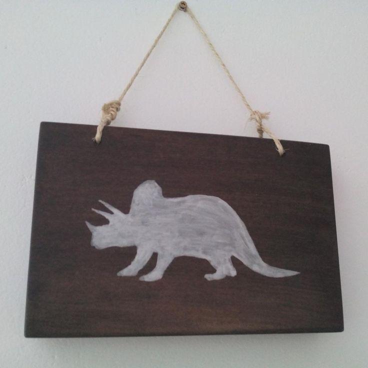 Tablou decorativ din lemn pentru camera copiilor