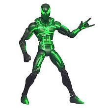Marvel Universe Build a Figure Collection Arnim Zola! Series - Spider-Man (Neon Green)