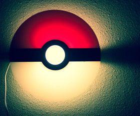 Pokemon Lamp – Wall mountable sconce