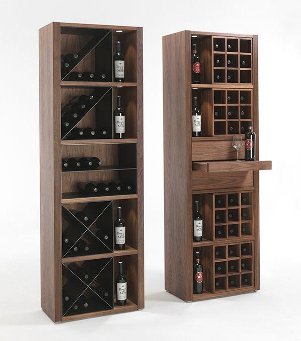 M s de 1000 ideas sobre barra de barriles de vino en - Estanterias para vino ...