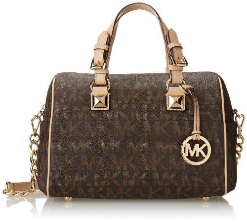 Top Handle Handbag On Sale, fuxia, Leather, 2017, one size Michael Kors