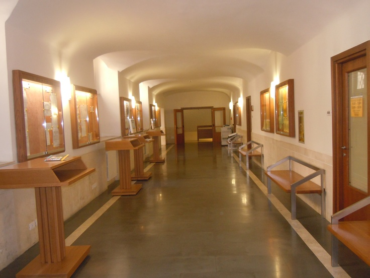 Il corridoio al pianoterra