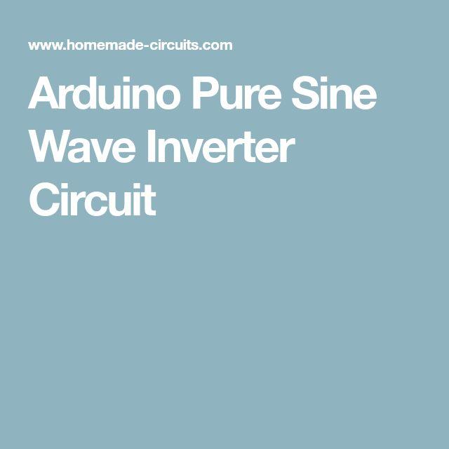 Arduino Pure Sine Wave Inverter Circuit