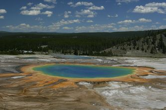 Yellowstone  - my brother's picture!