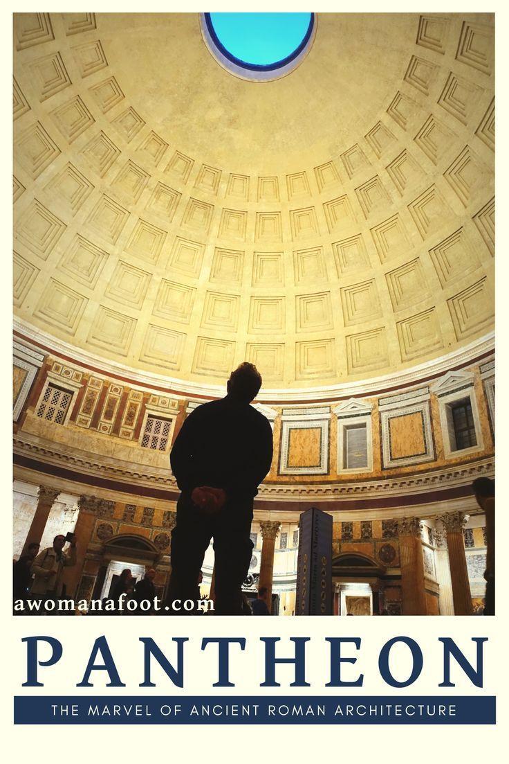 Pantheon: das Wunder der antiken römischen Architektur