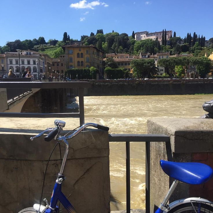 I enjoy every moment as I enjoy every picture. — Enjoying Florence by bicycling is definitely a...
