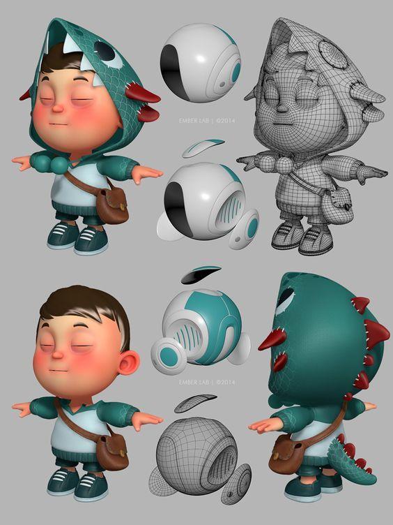 Quot Carlos Ortega Quot 3d Artist Character Design Prop Concept