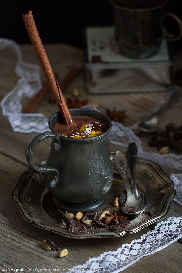 Pikantní horká čokoláda