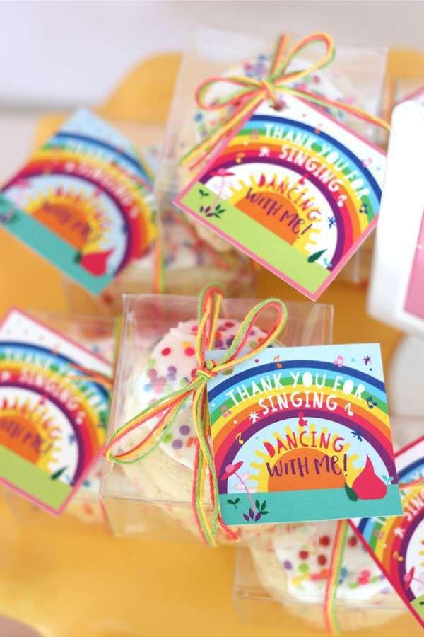 Trolls Theme Birthday Party Return Gifts