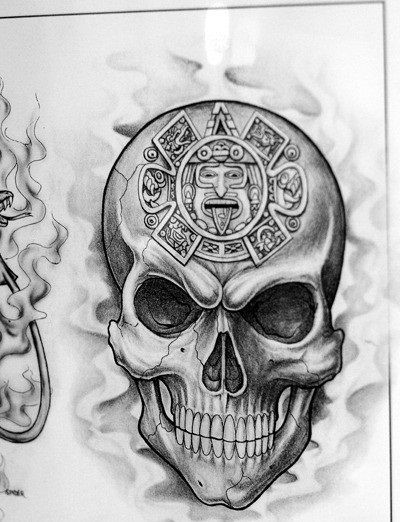 Aztec Skull Tattoo Meaning 2016 top 86 aztec tattoos ideas meanings ...