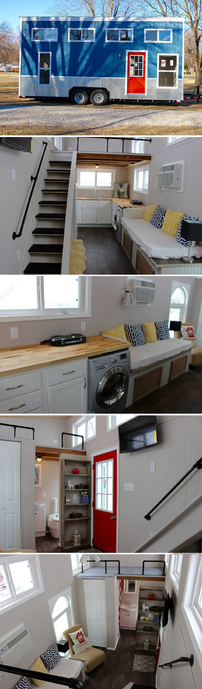 The Mini Mansion from Relax Shacks: a 273 sq ft tiny house available for sale in Saint Peters, MO